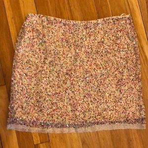 NWT Skirt Romeo Juliet couture sequined size L